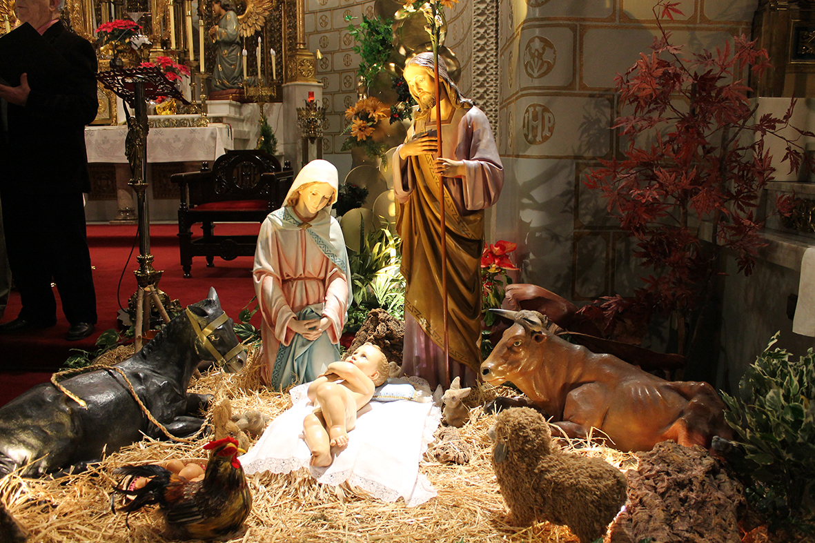 Navidad en la iglesia