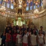 Altar de San José de la Montaña en Barcelona. Diseñado por el Arquitecto Berenguer y construido por los constructores Barba.