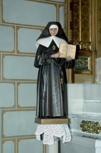 Imagen de Beata Petra en Real Santuario de San José de la Montaña