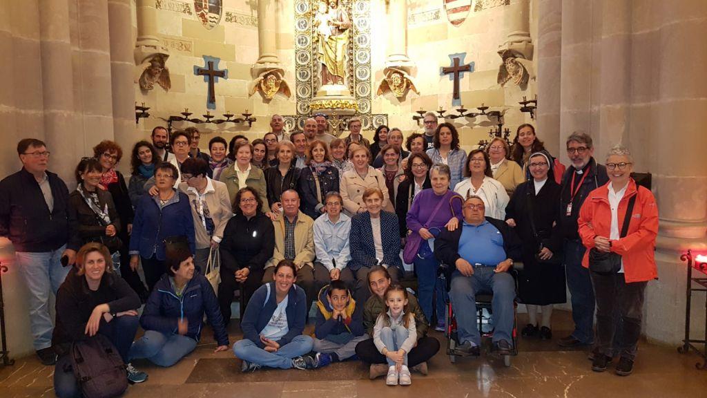 josefinos en la Sagrada Familia barcelona