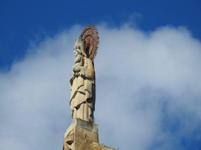 San José en los cielos de barcelona