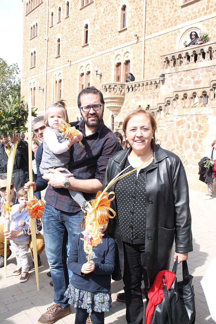 Familia en domingo de Ramos 2015