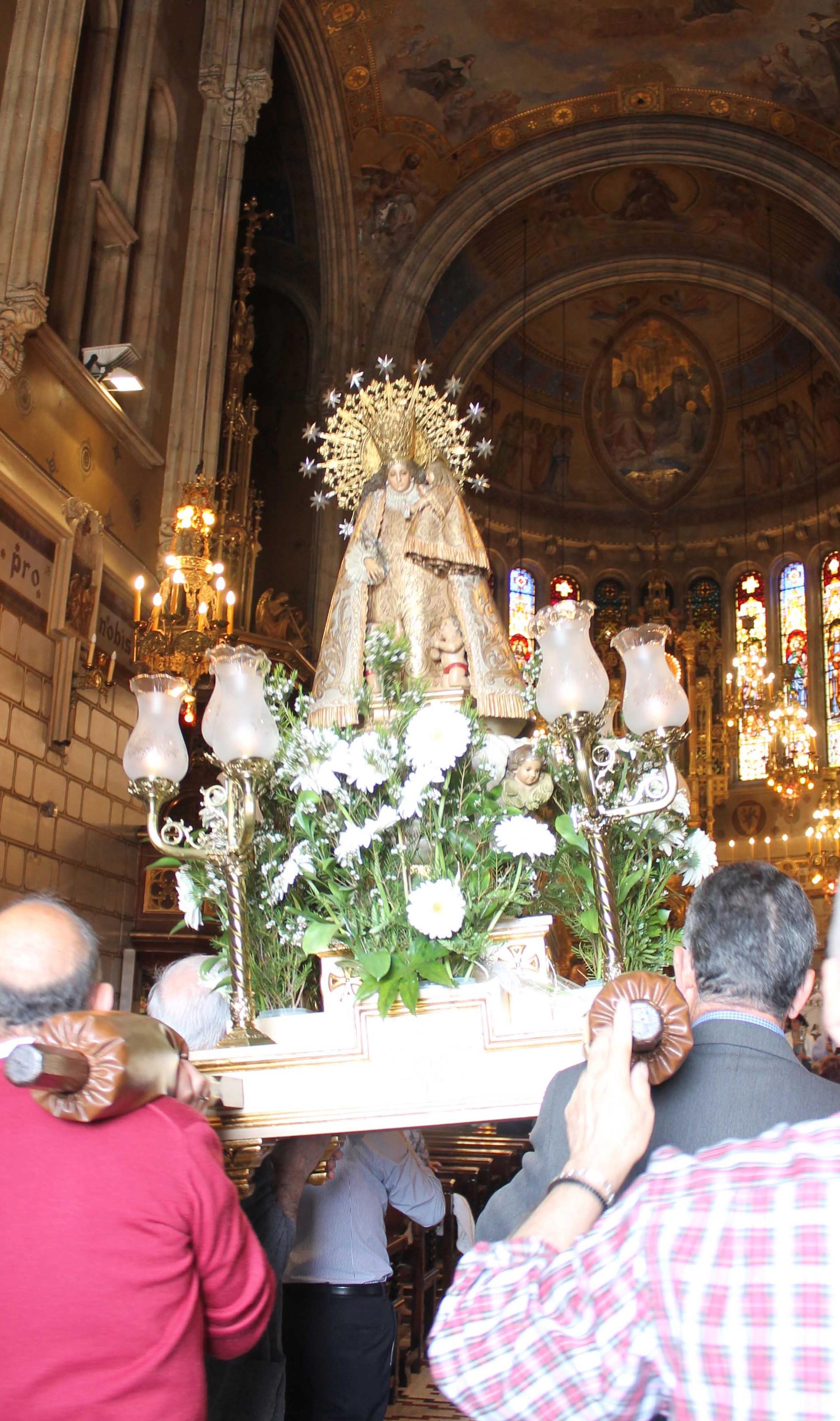 Procesión Nuestra Señora de los Desamparados.