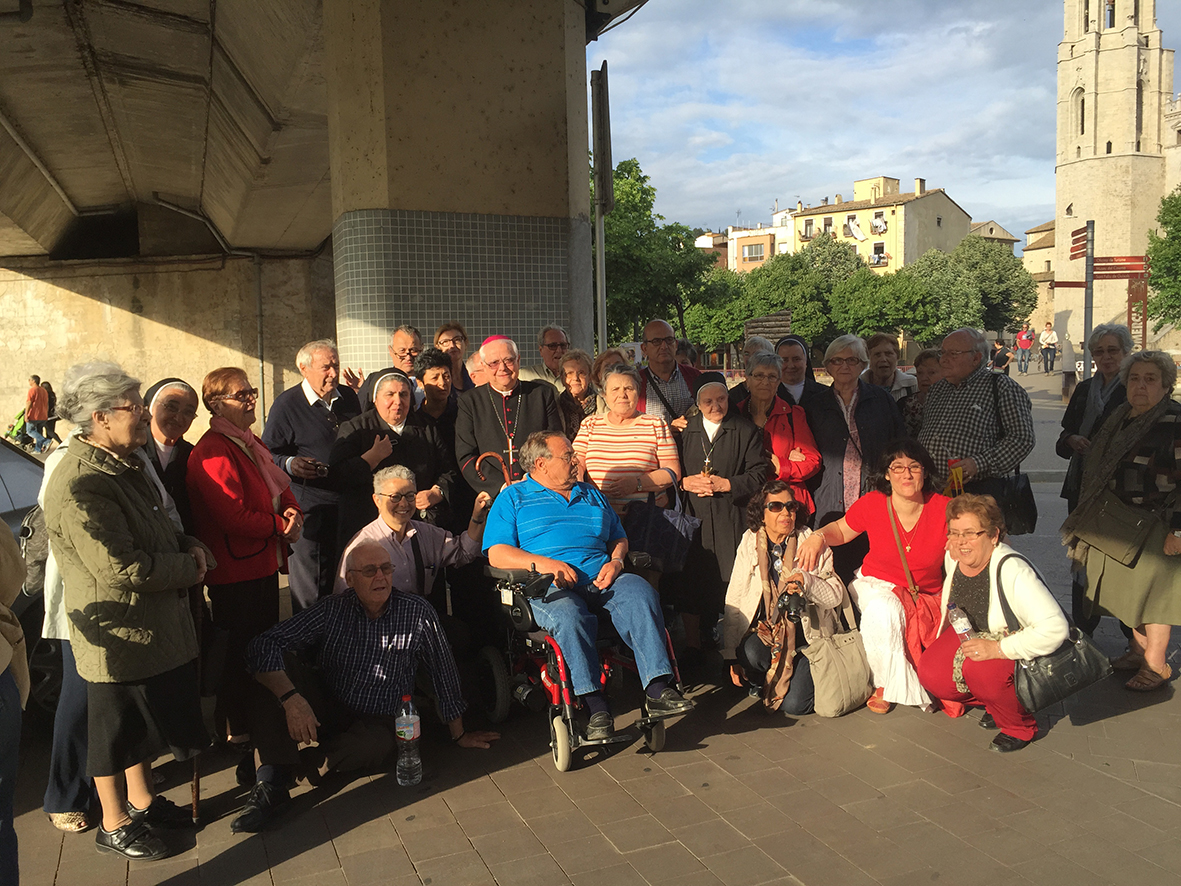 visita a Girona: mn. Francesc Pardo.
