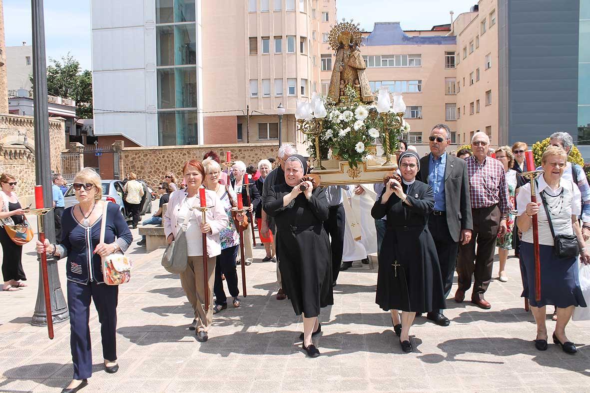 solemnidad nuestra señora del los desamparados Madre Paloma de San José, Madre María del Carmen de San José