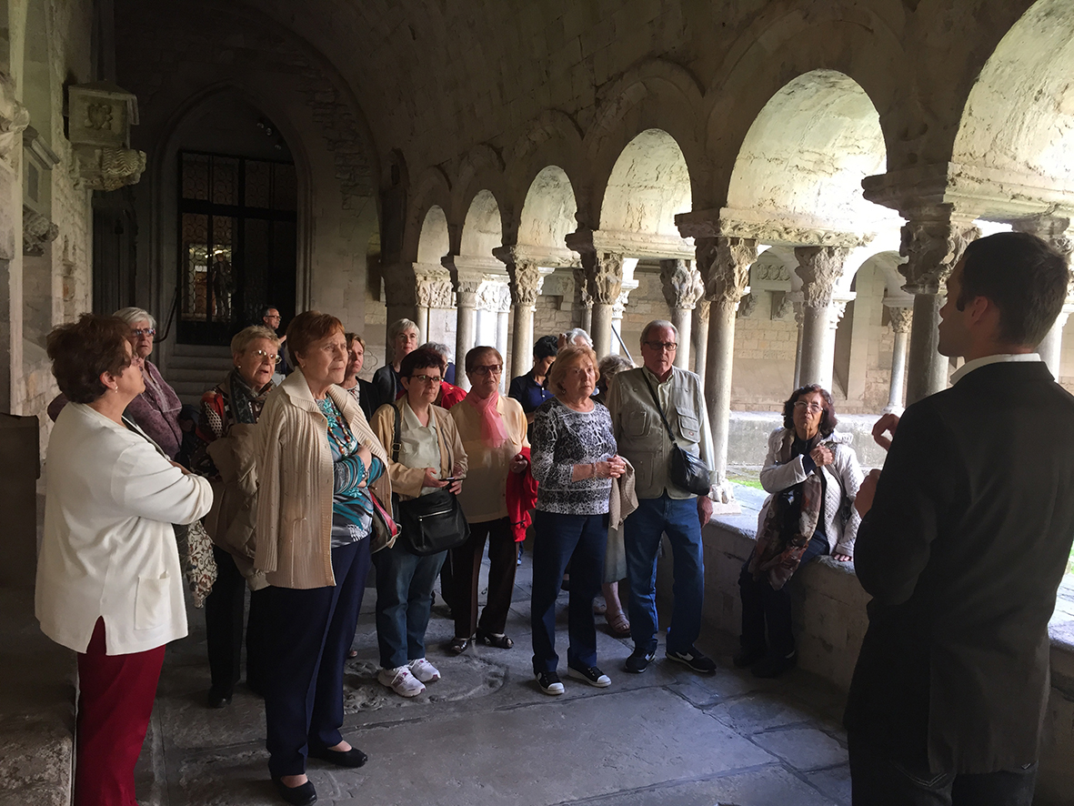 Visita a Girona: Claustro de la catedral