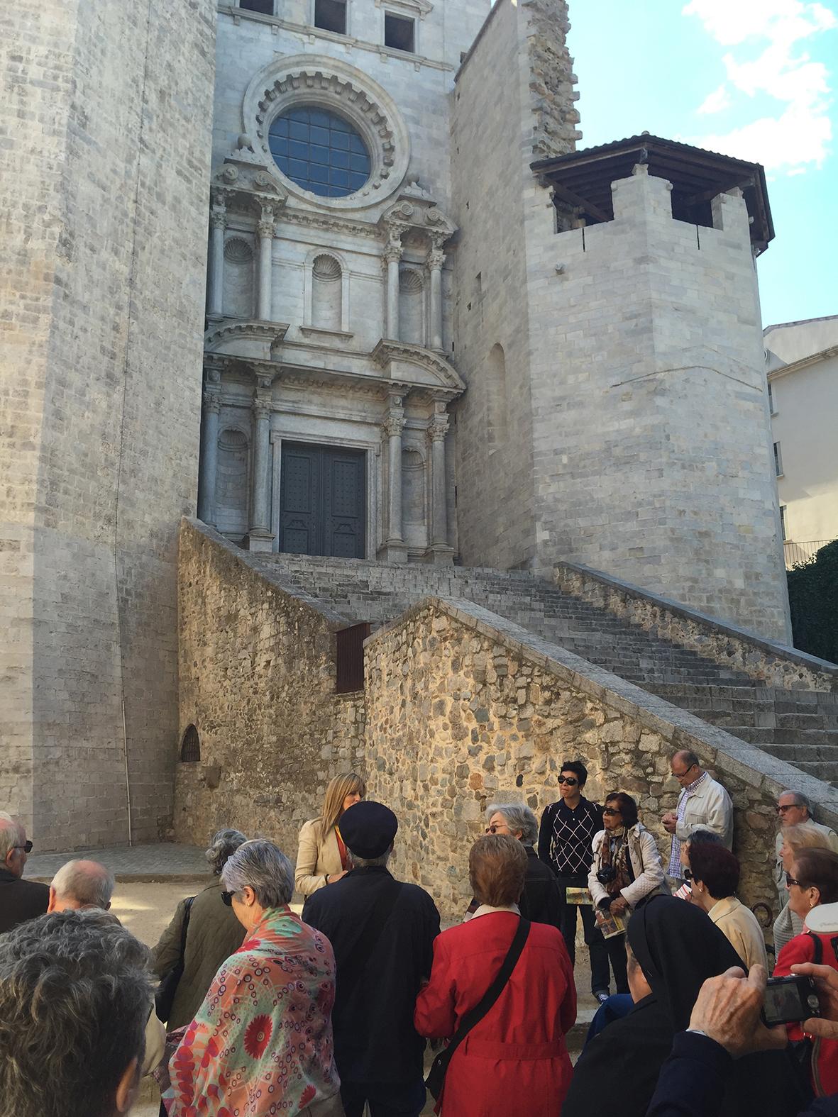 escalinata piedra.