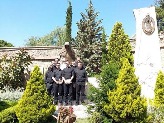 Diócesis Toledo: visita seminaristas.