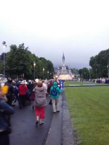 peregrinación a Lourdes 2015.