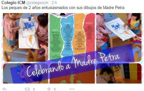 Gran Día de la Festividad de Beata Petra de San José 2015.