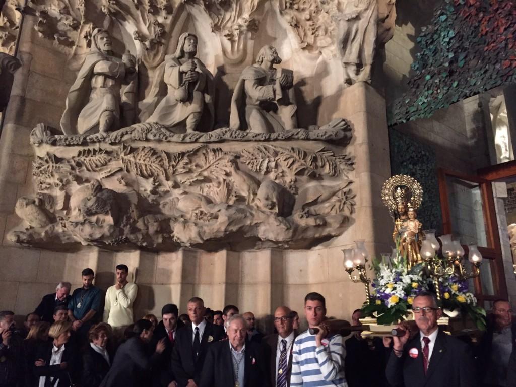 San José en la Sagrada Famillia