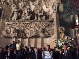 San José en la Sagrada Famillia VISITA GUIADA SAGRADA FAMILIA