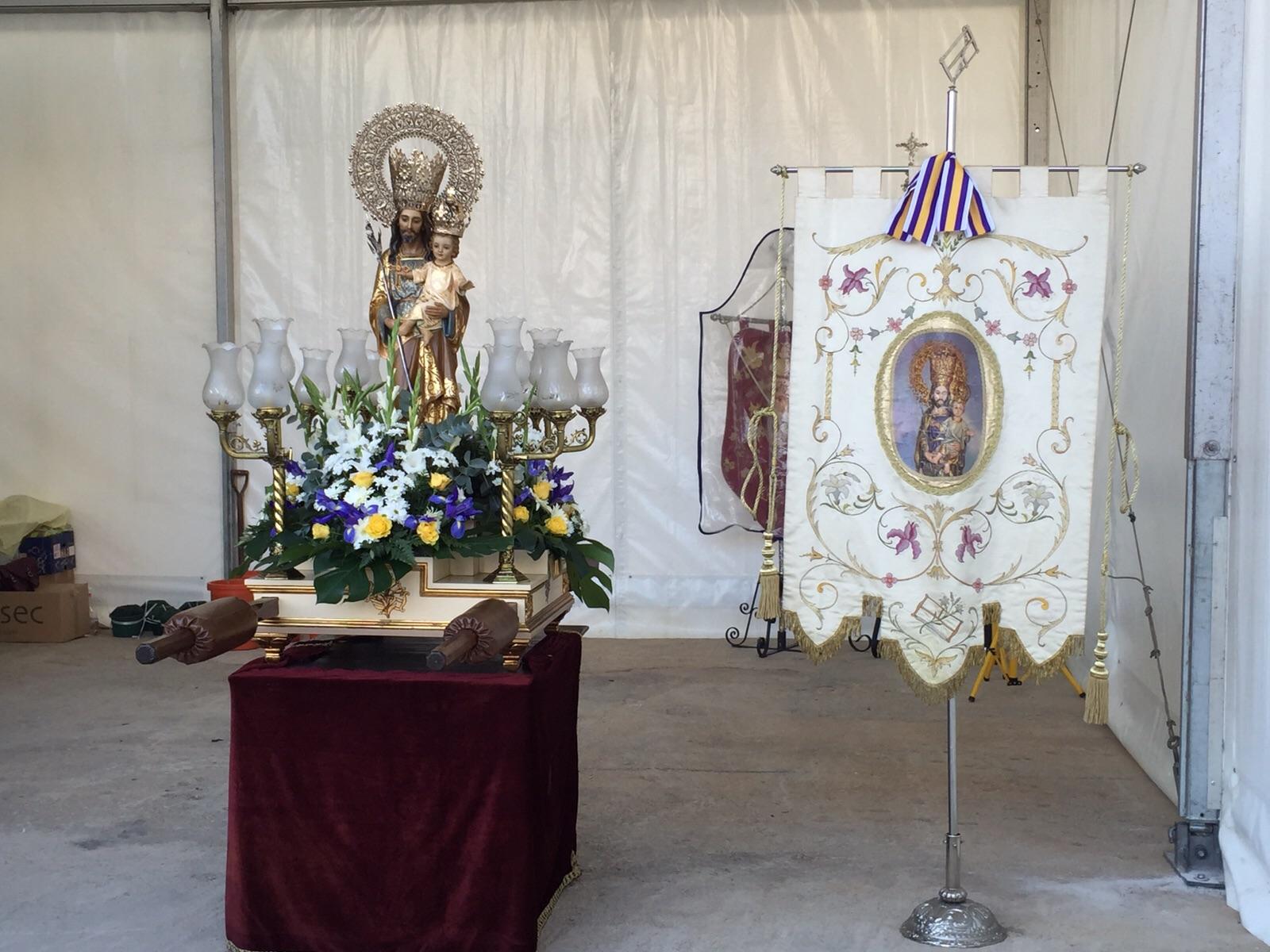San José en la Sagrada Familia