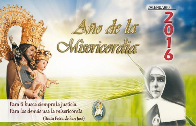 Calendario 2016. San José de la Montaña.