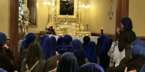 peregrinos servidoras del señor y de la virgen de Matalá