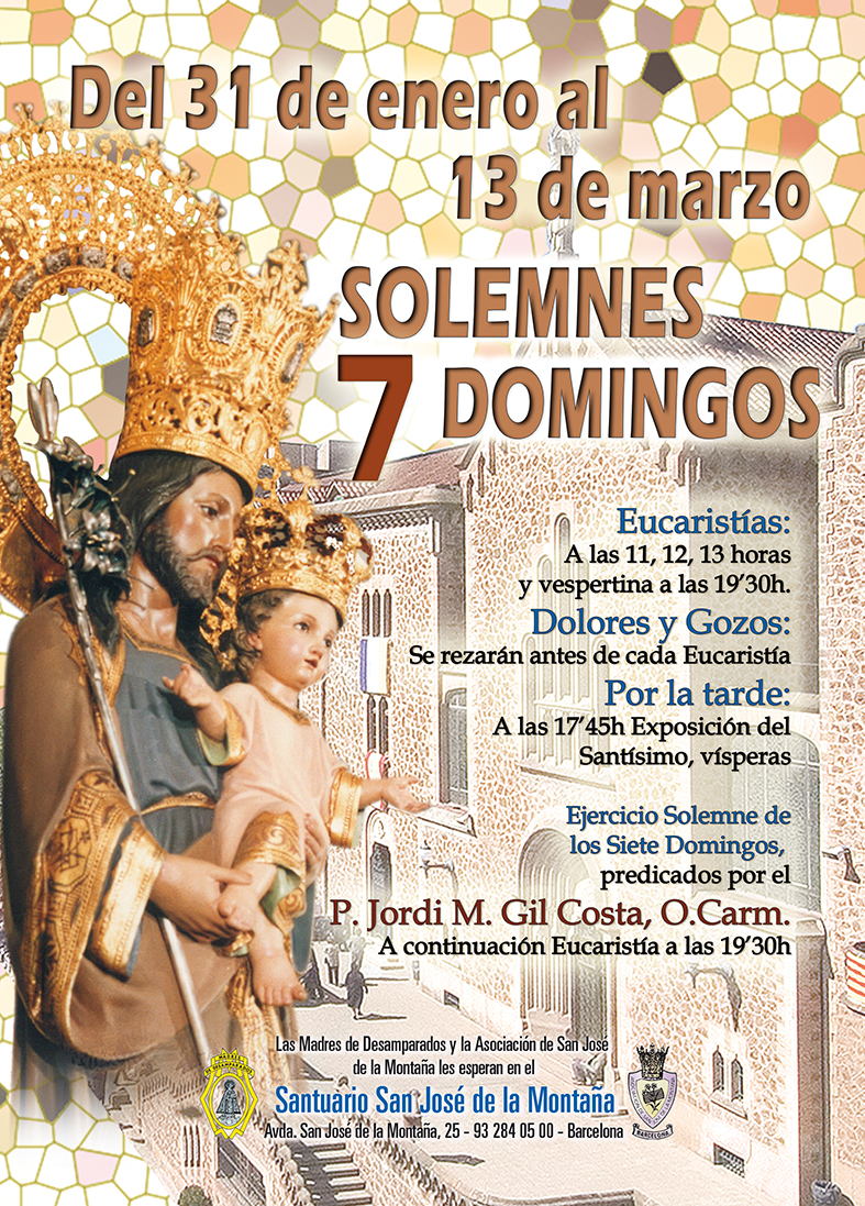 7 Domingos a San Jose. 3er Domingo