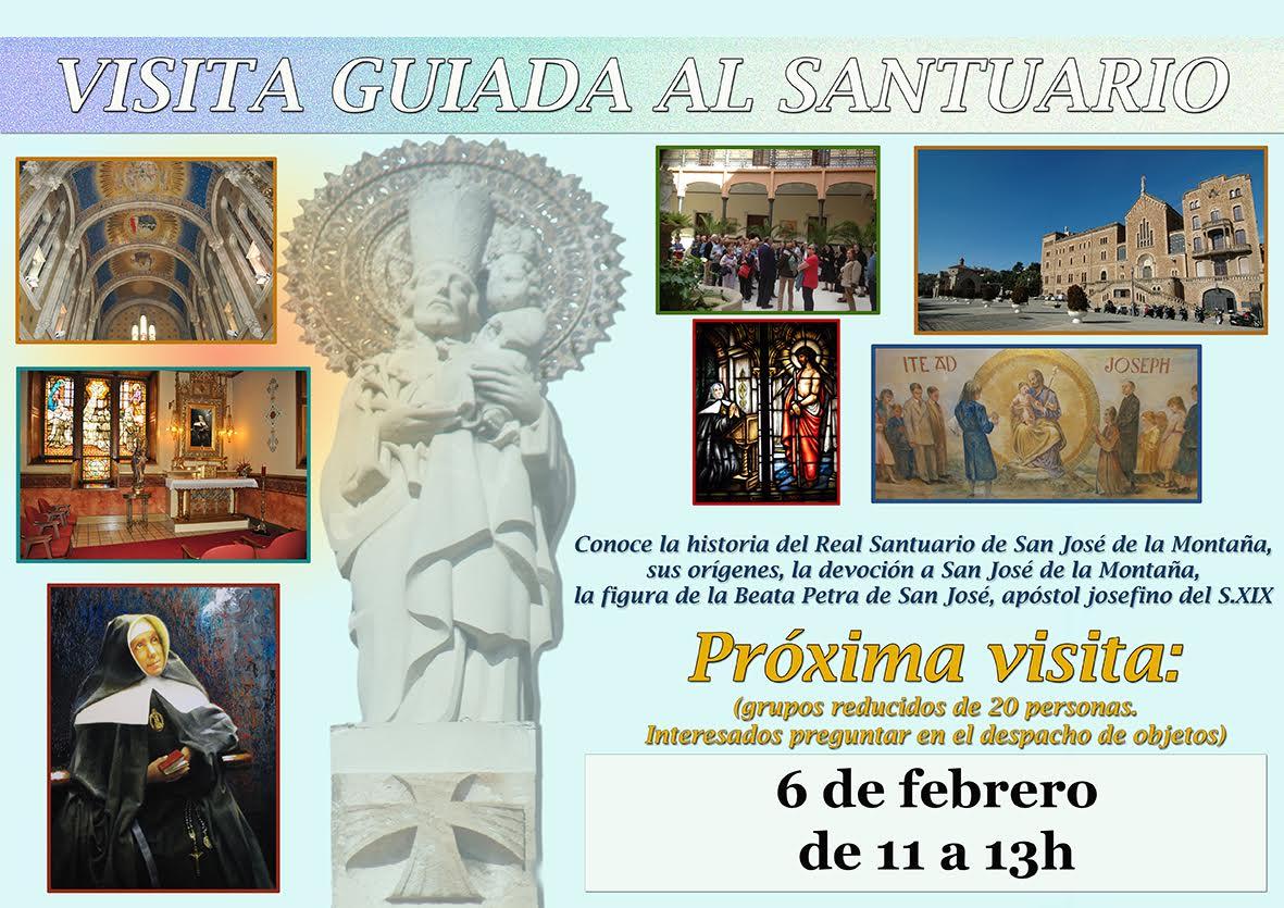 Visita Guiada al Real Santuario de San José de la Montaña.