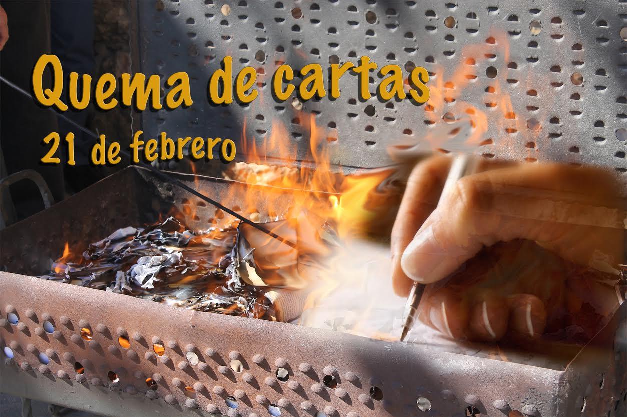 quema de cartas