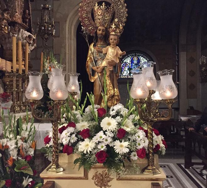 Solemnidad San José 2016.
