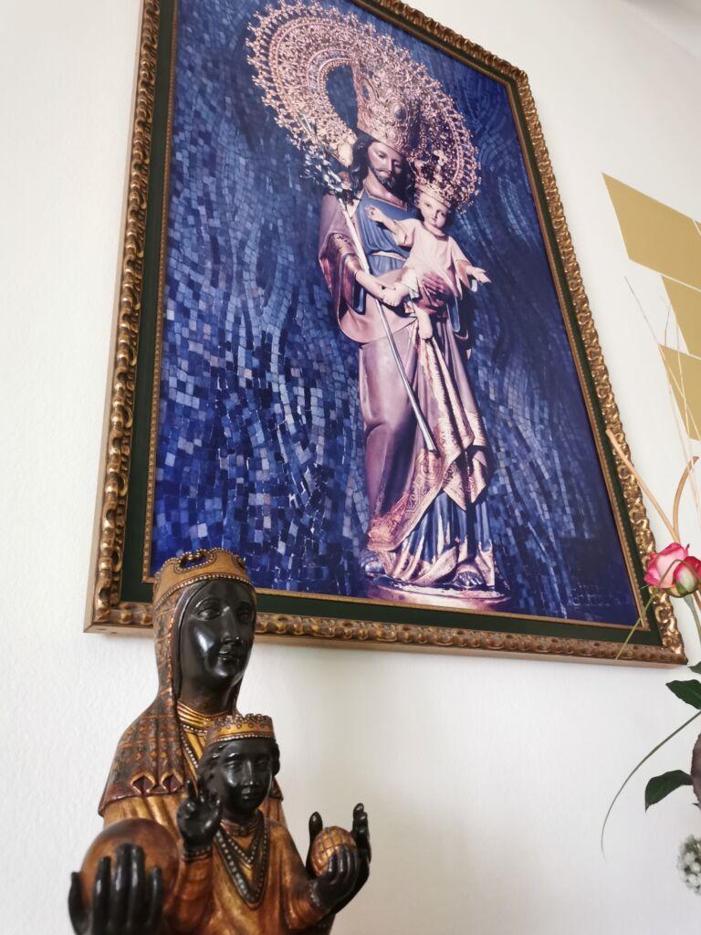 mare de déu de montserrat i sant josep de la muntanya