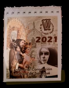calendario de mesa 2021