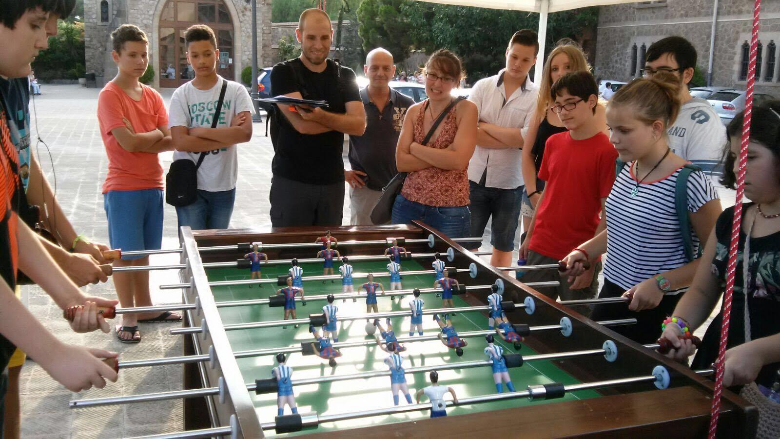 Concurso Futbolín: Fiestas de La Salud
