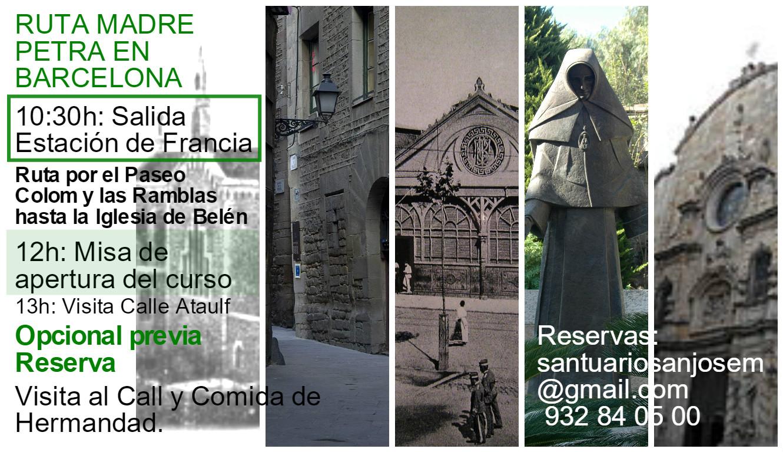ruta madre petra 2016 barcelona