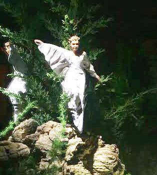 imagen navidad angel anunciador a los pastores