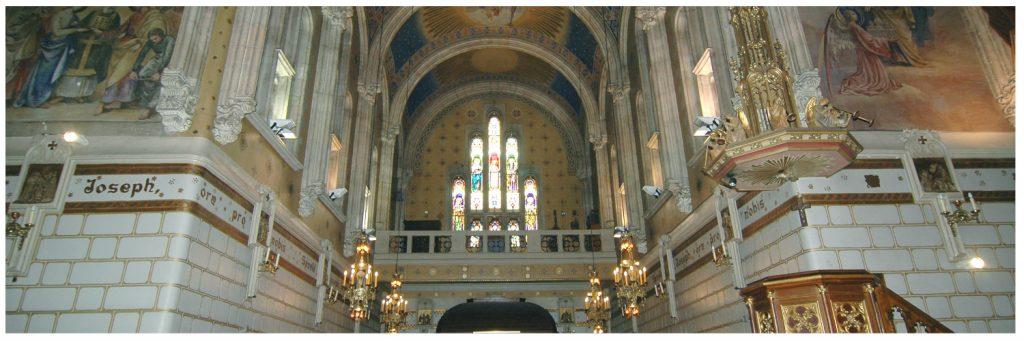 Iglesia principal del Santuario visita guiada 2017
