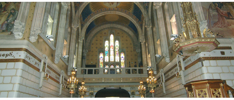 Iglesia principal del Santuario