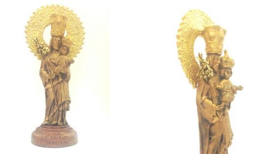 San José de la Montaña objeto de adoración