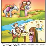 vuelta a Nazaret san jose vuelve con jesus