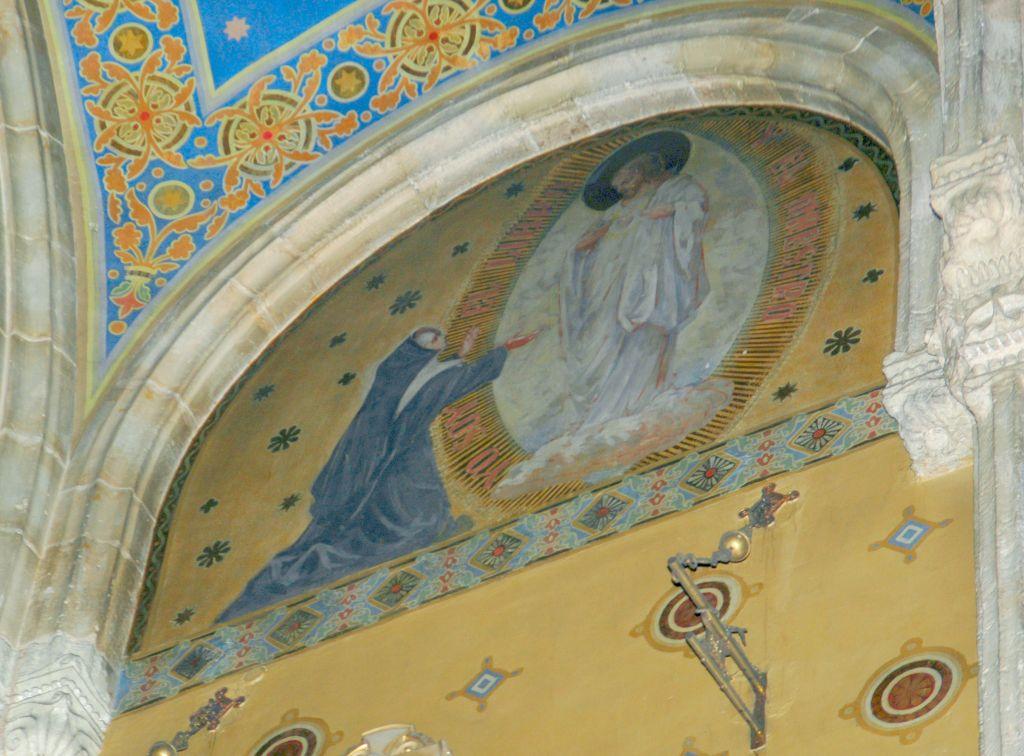 Madre Petra de san jose pintura de iglesia