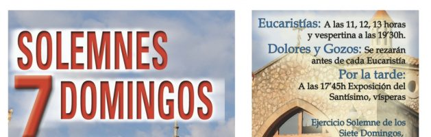 7 Domingos Solemnes a San José