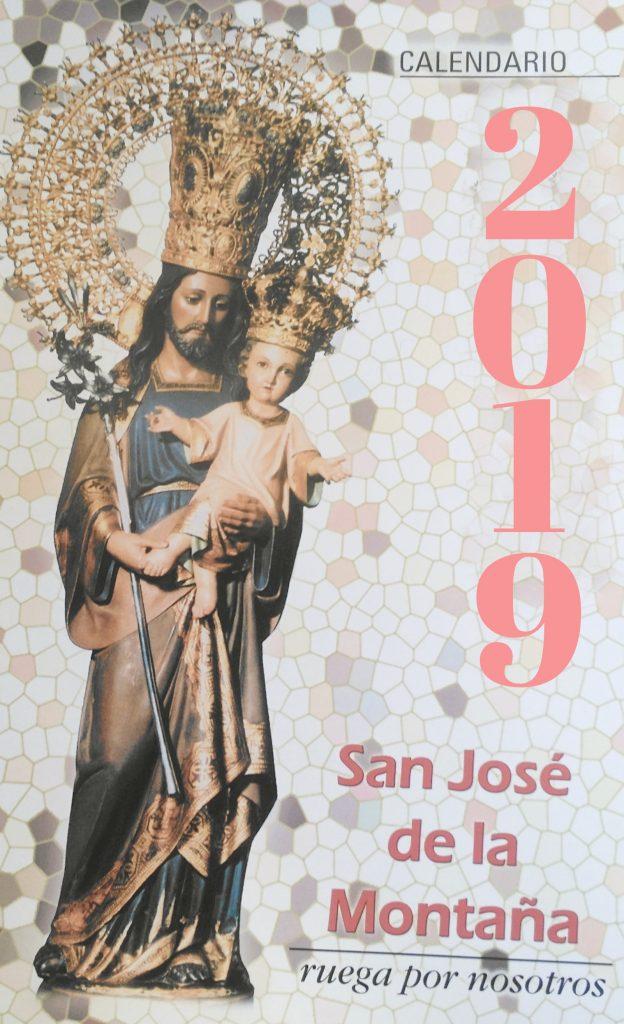 Calendario 2019 real santuario San José de la montaña