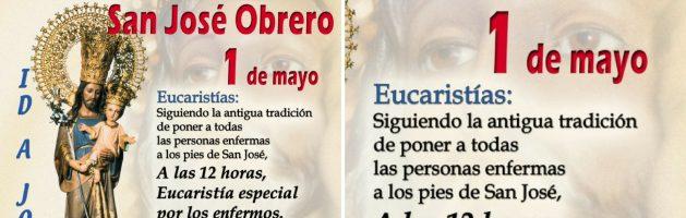 1 de Mayo – Misa de los enfermos – San José de la Montaña
