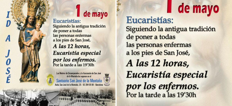 misa de los enfermos 1 de mayo