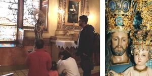 Familia colombiana barcelona devocion san jose