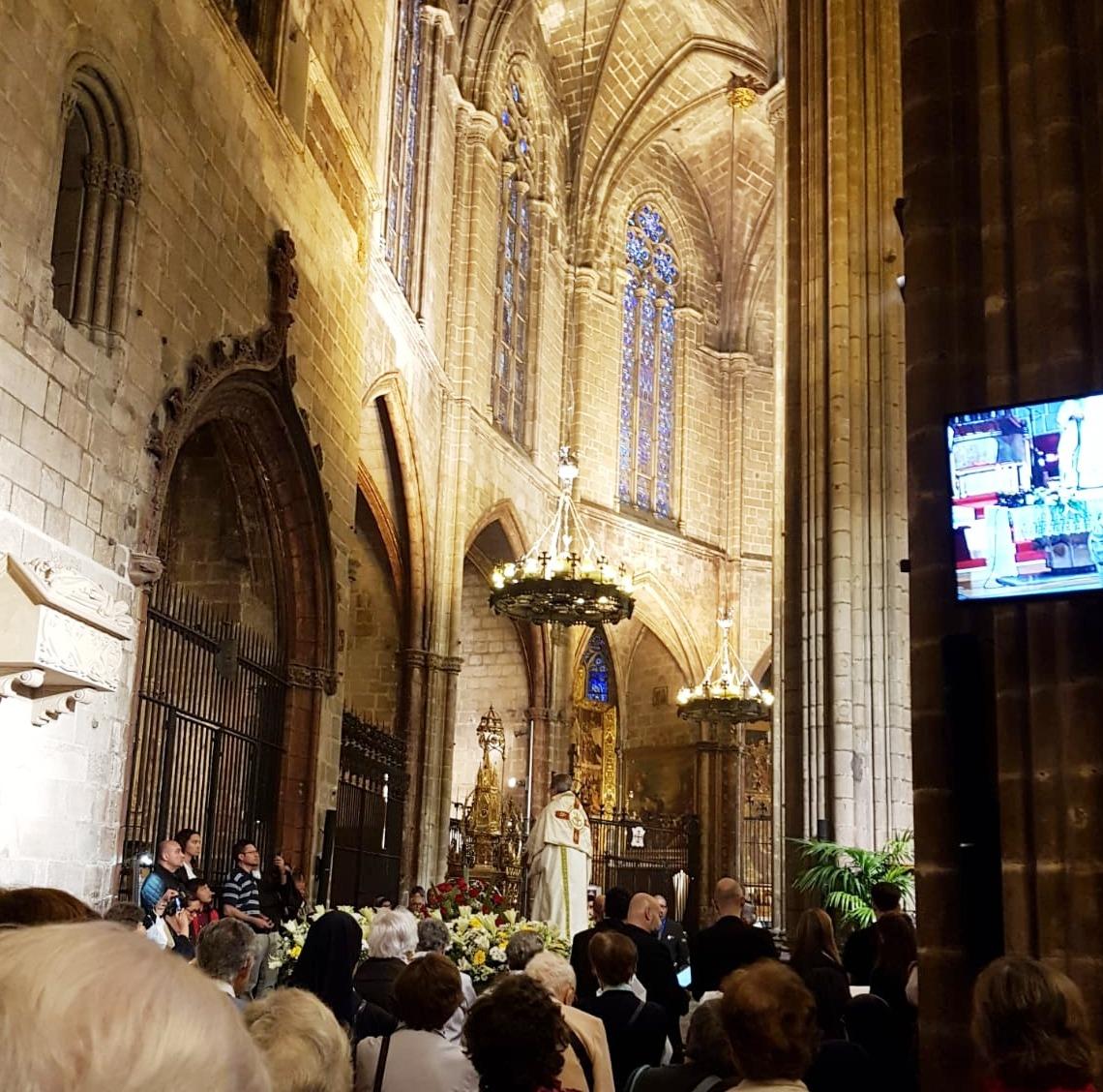 corpus Catedral Barcelona