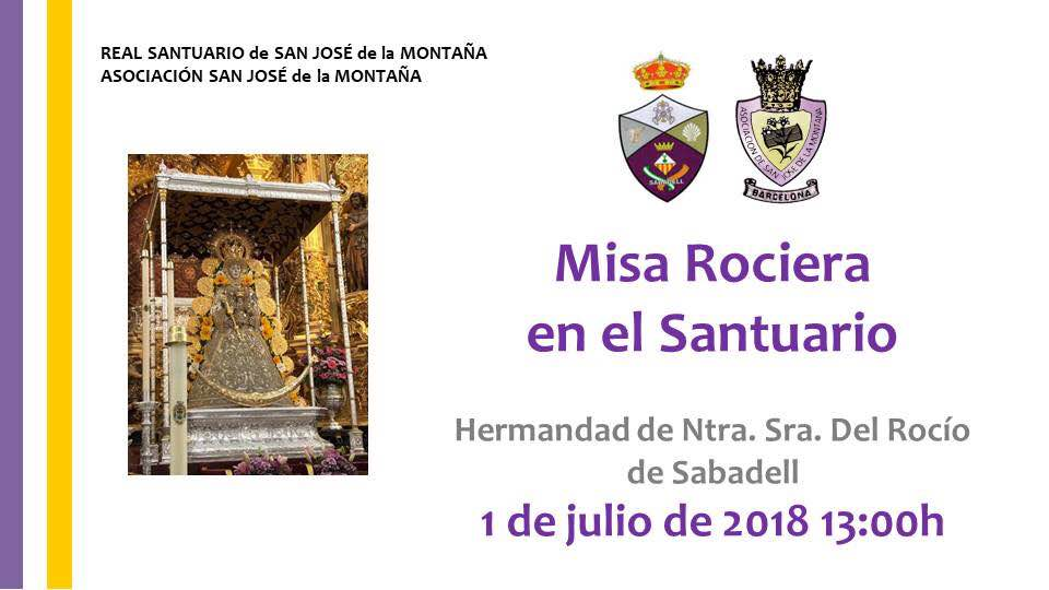 misa rociera barcelona