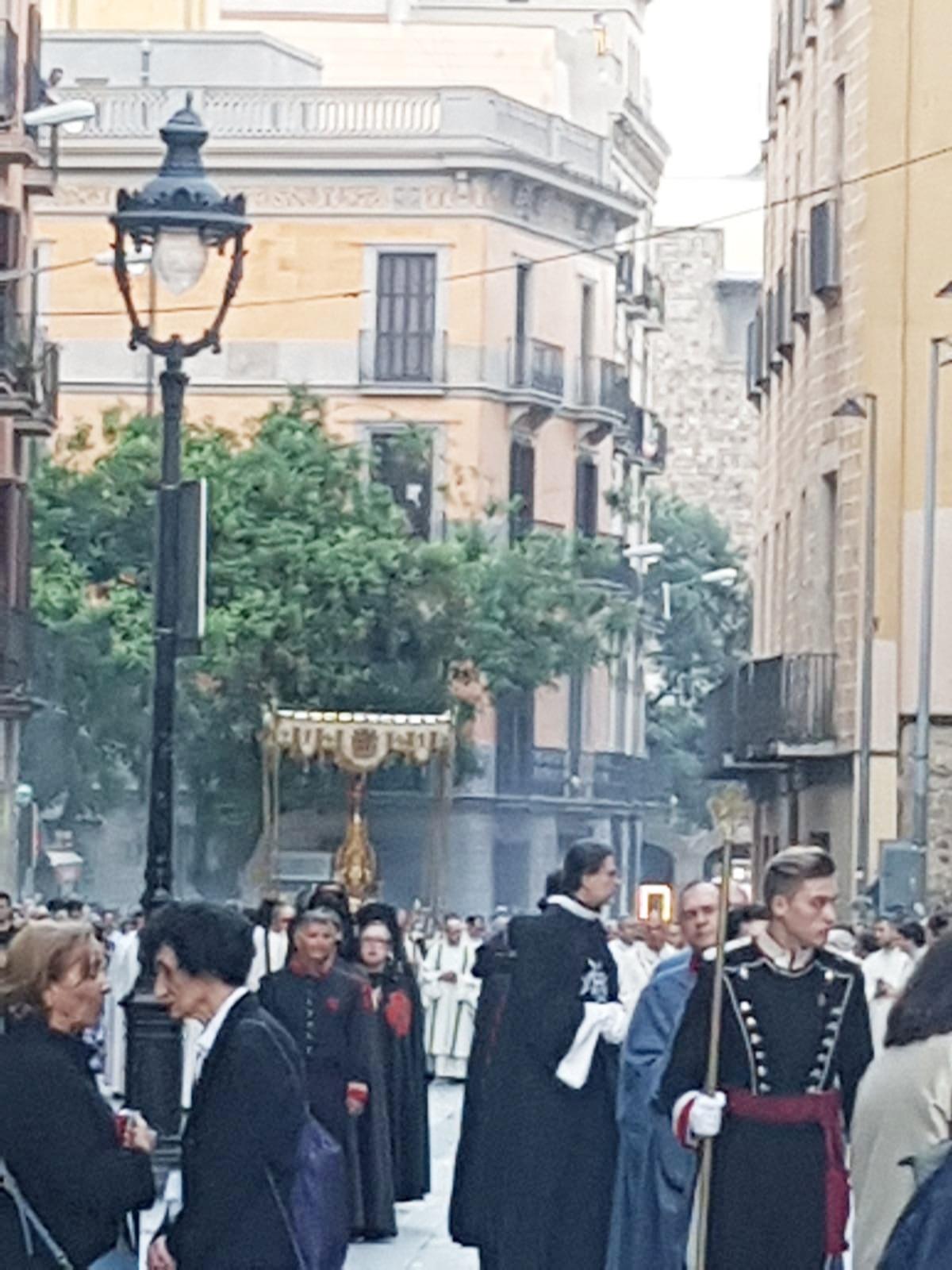 procesion corpus barcelona