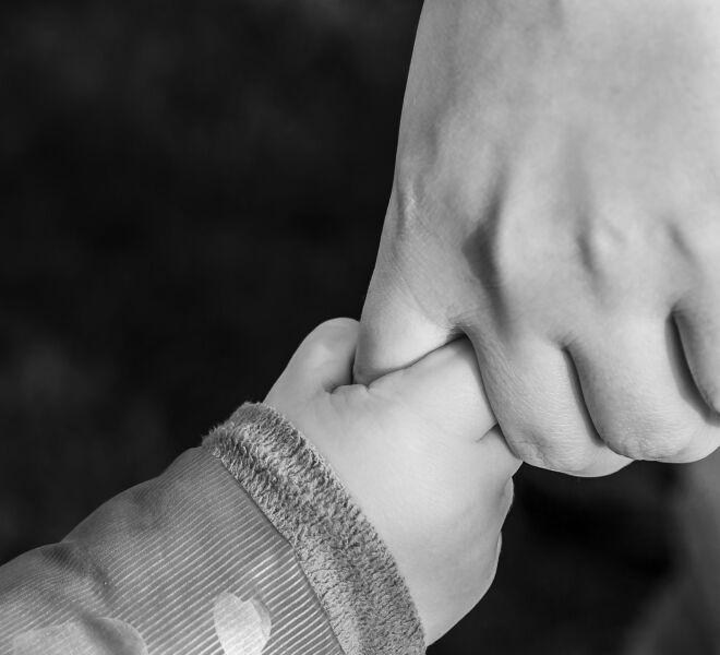 dar la mano al señor