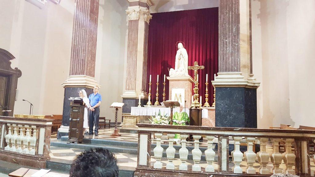 eucaristia beata petra ruta jubileo de la merced