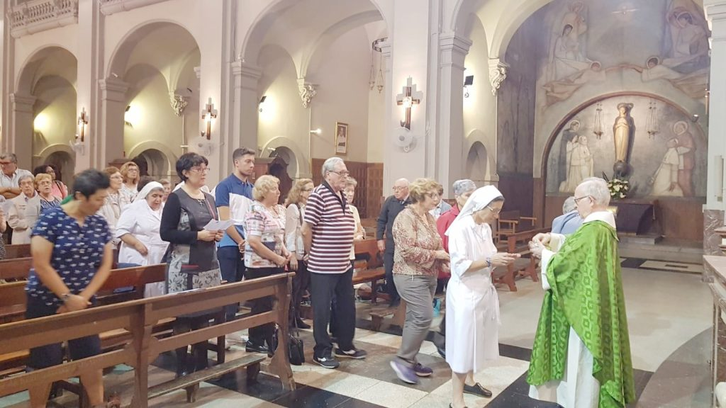 eucaristia ruta beata petra