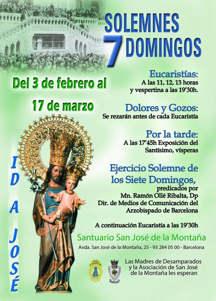 7 Domingos a San José