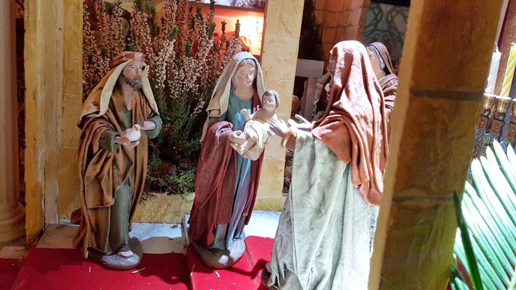 presentación de Jesús al templo
