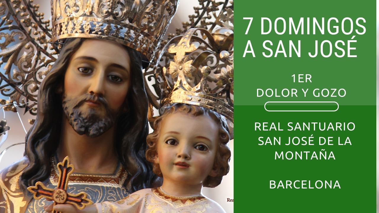 7 domingos a San jose dolores y gozos