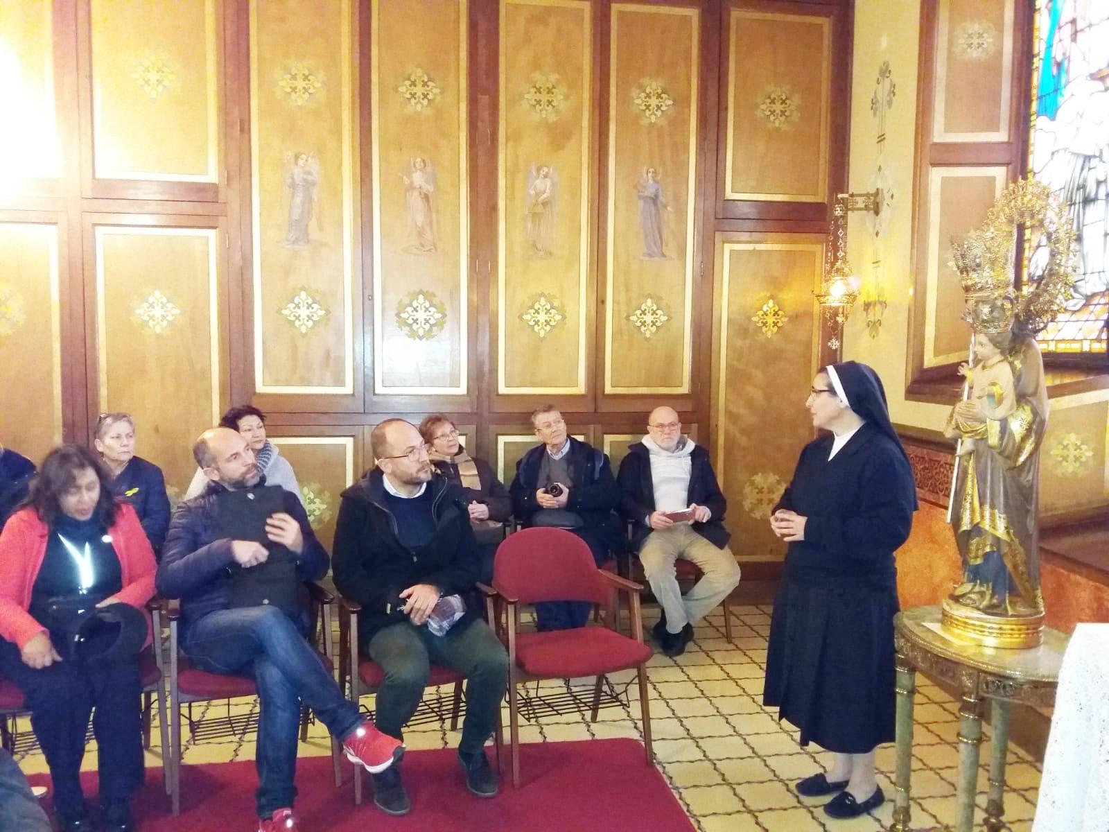 visita guiada Madre Mari Carmen Guerrero