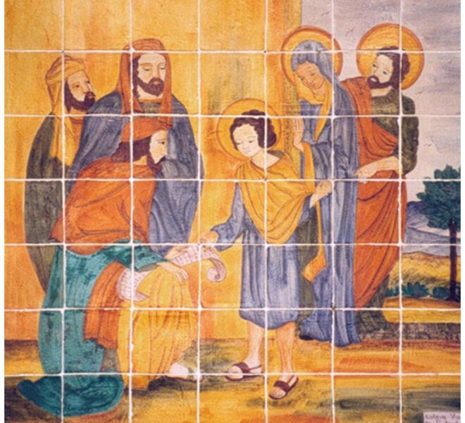Jesús se pierde en el templo