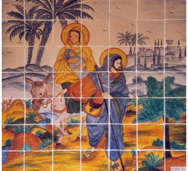 salida de Egipto san jose